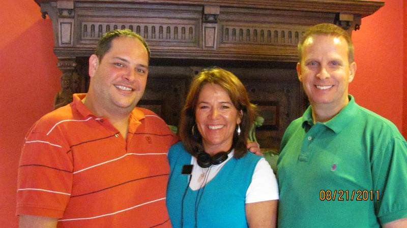 Oklahoma Excursion, Greg, Allyn and Joey