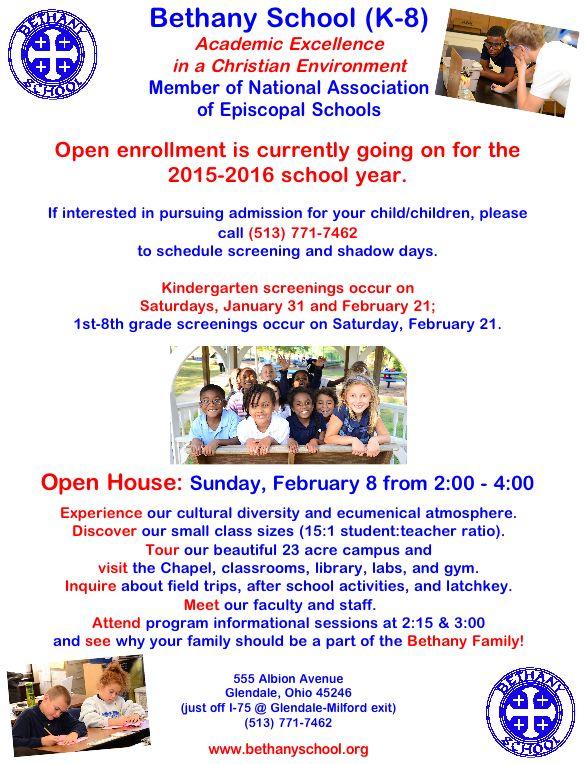 Bethany Open House