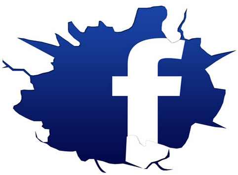 Facbook_CrackedLogo