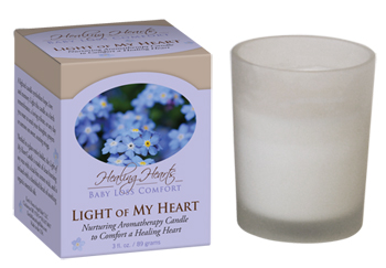 Light of My Heart Candle