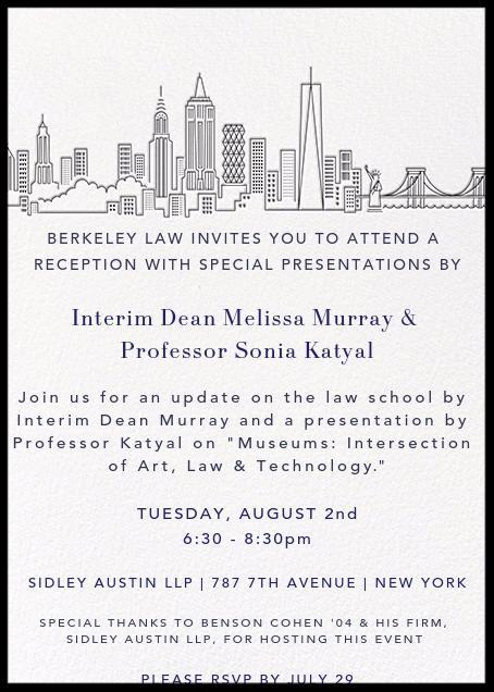 NYC Reception - Aug 2, 2016