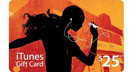 iTunes $25