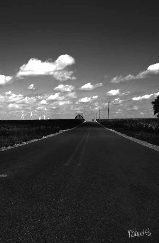 Road in Indiana