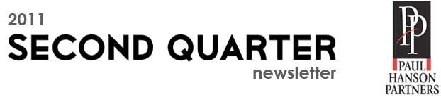 2011 Second Quarter Newsletter