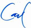 Carl's Signature