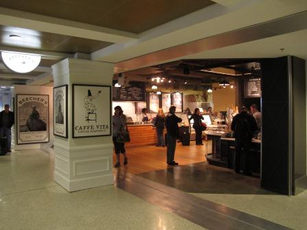Beecher's in Seattle-Tacoma Airport opens!