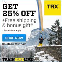 TRX Training Program - 25% Off
