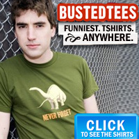 Busted - World's Funniest T-Shirts