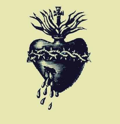 La Luz de Jesus Heart Logo