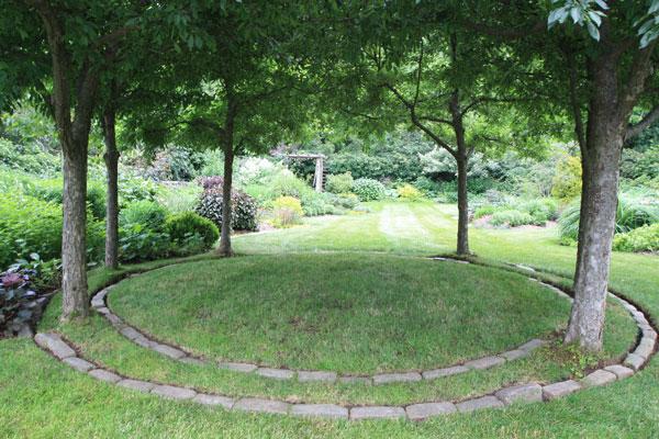 Garden Design New England tranquil lake nursery