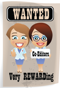Wanted Co-editors