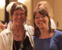 2010 HNY Jean Watson (l) and 2011 HNY Christina Jackson (r)