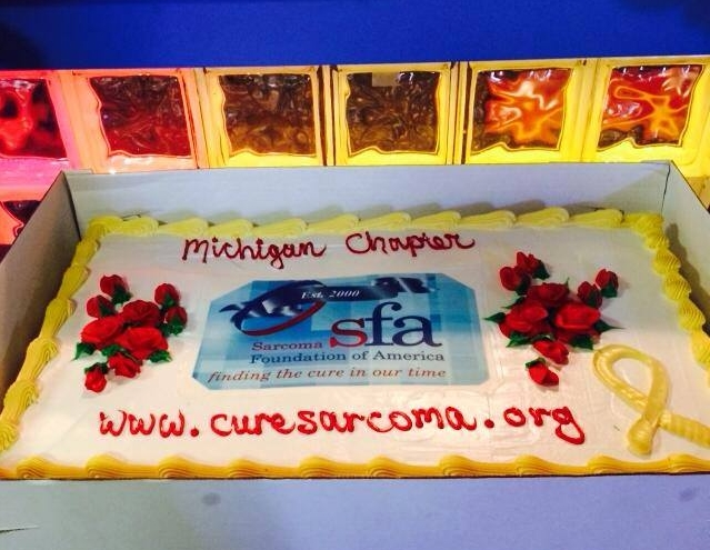 Bowl for a Cure Cake