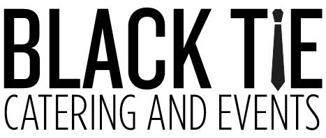 Black Tie Catering Logo