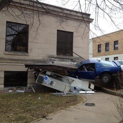 Car vs City Hall