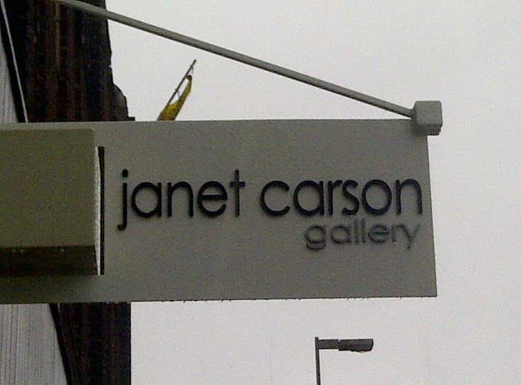 Janet Carson Sign