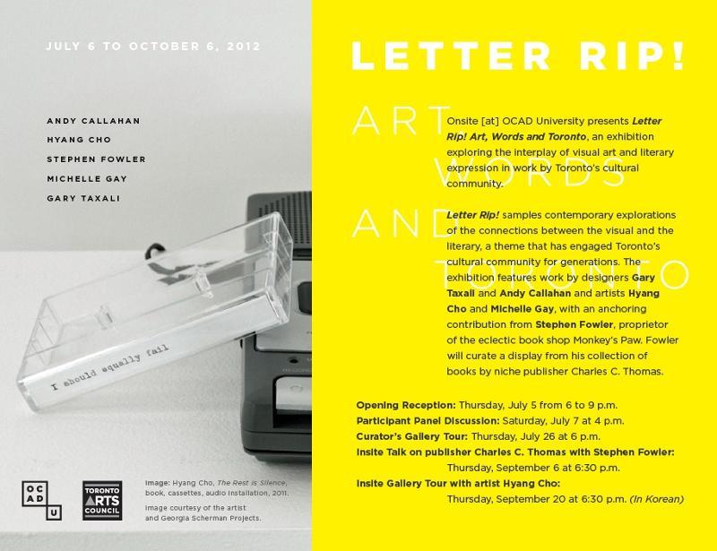 Letter Rip