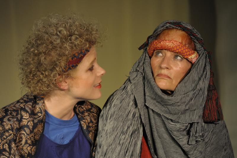 Agnes intimidating Kathleen