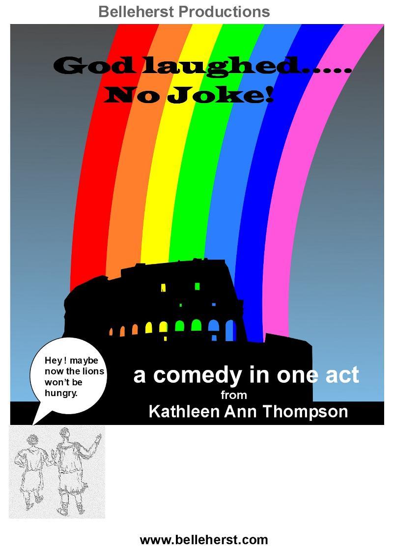 God Laughed lg. poster