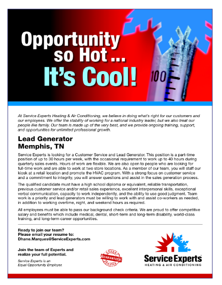 Jobs Available! Now Hiring!