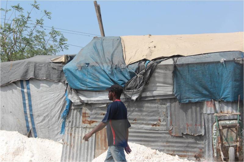 Haiti Tent City 2013