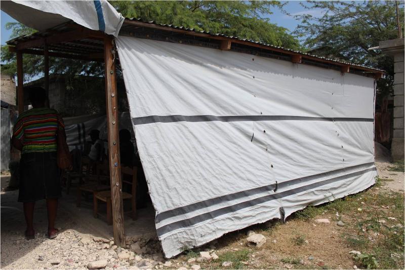 Tent Clinic, Haiti2013