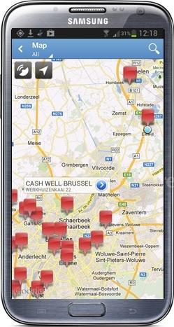 SamsungAndroidMap