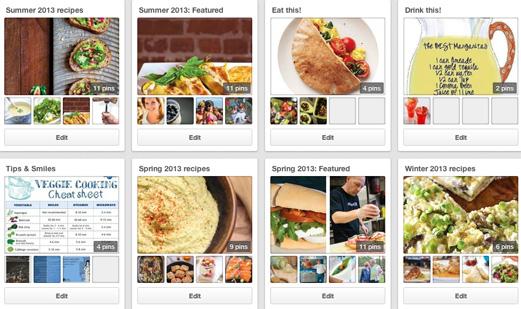 Pinterest 2013