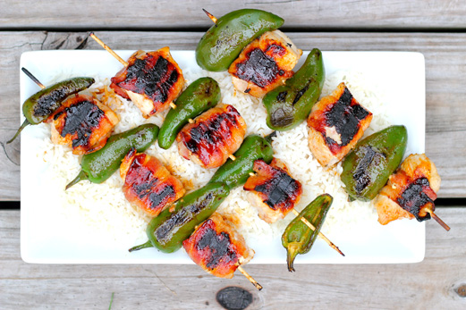 Jalepeno skewers recipe