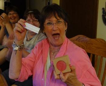 Trisha winnng prize
