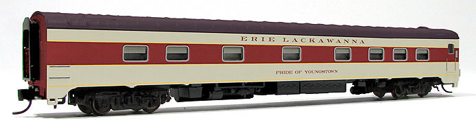 Erie Lackawanna 10-5 Sleeper