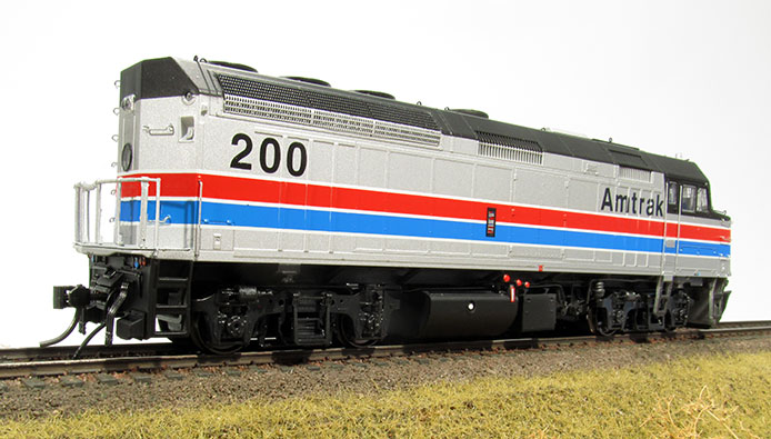 Rapido Amtrak F40PH Rear End