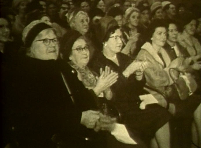 Old Ladies Clapping