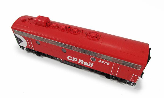 CP F9B Locomotive Roof