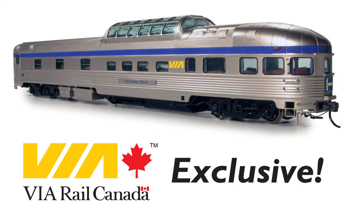 VIA Rail Canada Exclusive Park Car