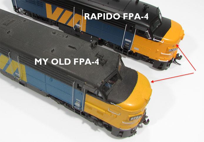 Alco FA Comparison