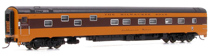 Milwaukee Road Duplex Sleeper