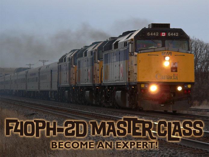 Rapido F40PH-2D Master Class