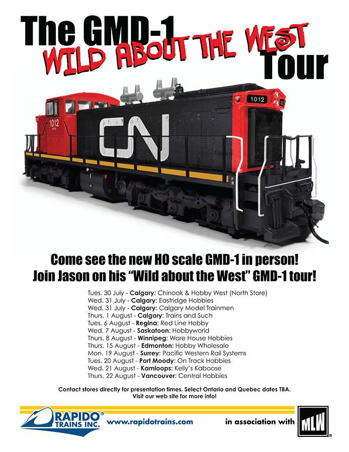 GMD-1 Tour