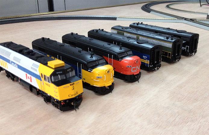 Rapido Trains Samples