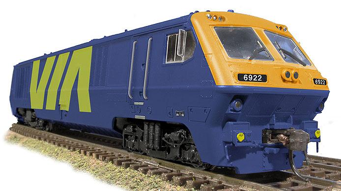 VIA LRC Blue Locomotive