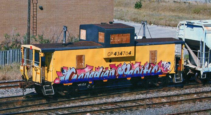 CP Graffiti Caboose