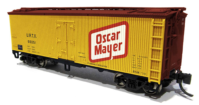 N Scale Oscar Mayer Meat Reefer