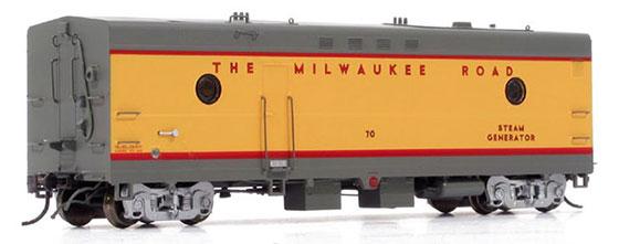 Milwaukee Road Steam Heater