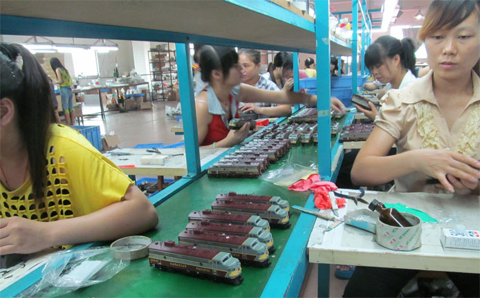 Production in China
