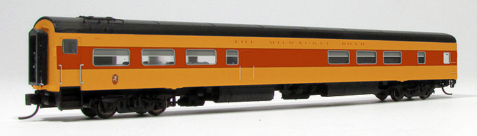 Milwaukee Road N scale