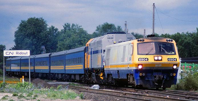 VIA F40PH-2D and LRC