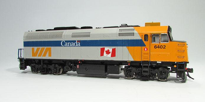 VIA Rail Canada F40