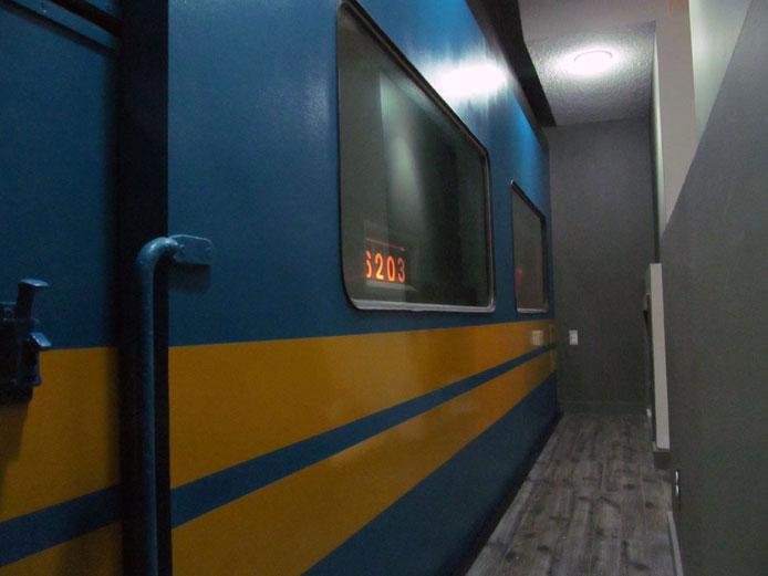 Train in the Basement