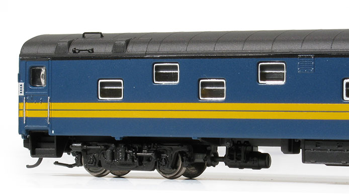 N Scale Duplex Sleeper